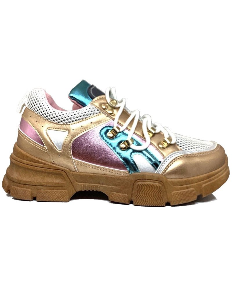 Sneakers μπέζ 1034/71
