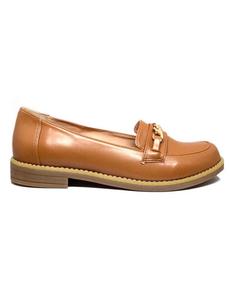 Loafers ταμπά με αλυσίδα 40/01010