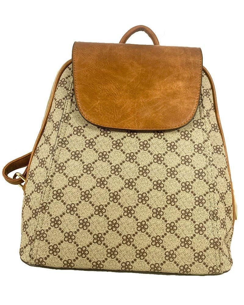 Backpack μπεζ 5935-66