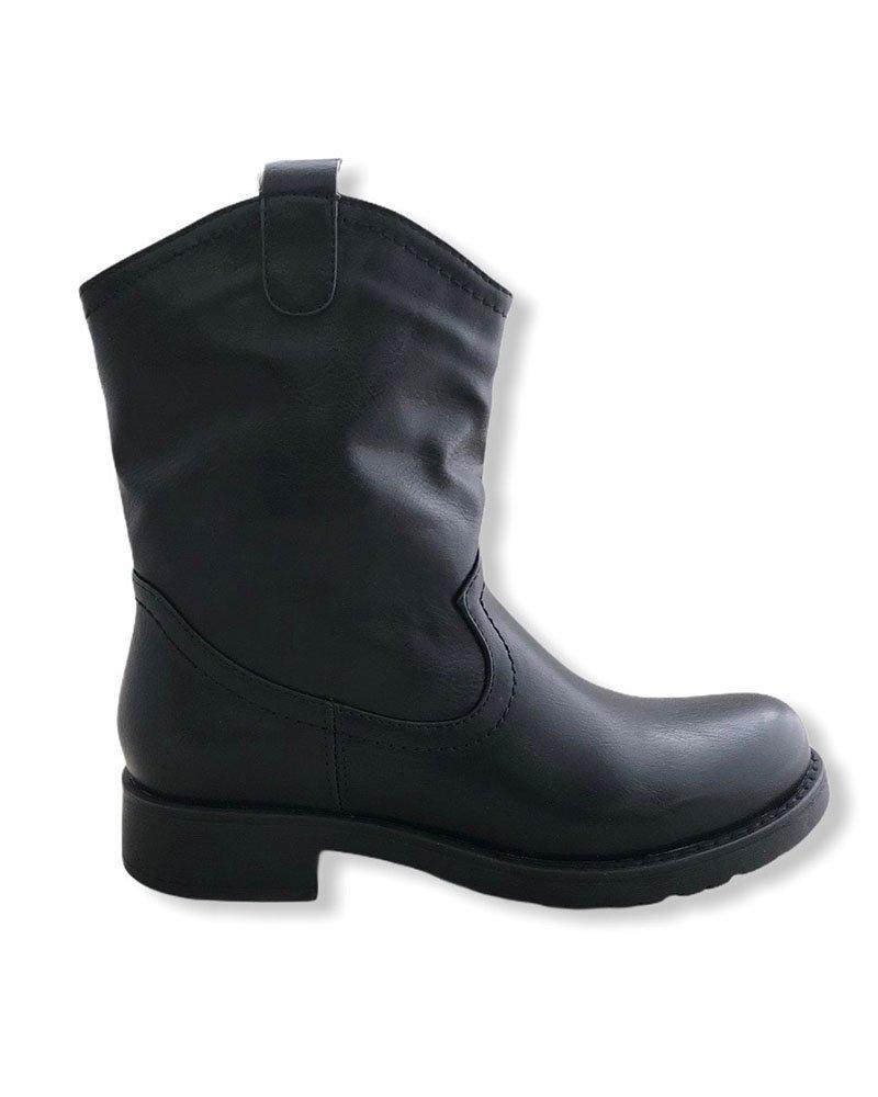 Western μποτάκι μαύρο 72/6012